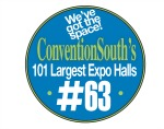 Convention South 101 Largest Expo Halls Badge