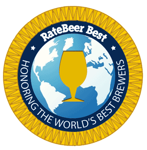 RateBeer Best Award Medallion